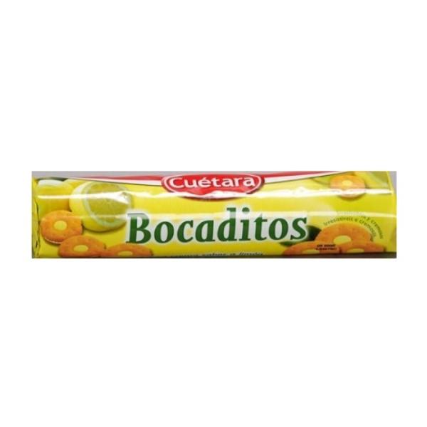 Bolacha Recheada Limão Bocaditos Cuetara 150Gr