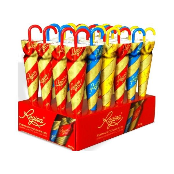 Sombrinhas Chocolate Leite Regina 15Gr