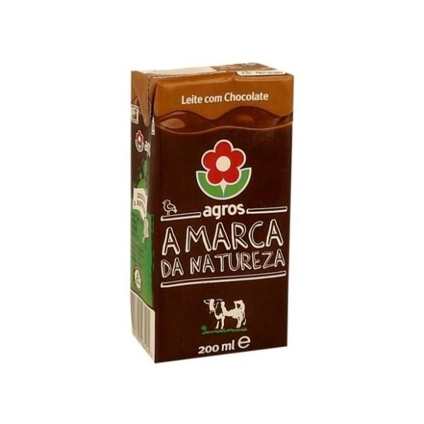 Leite Com Chocolate Agros 200Ml