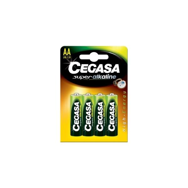 Pilha Alcalina Blr6 Super Cegasa