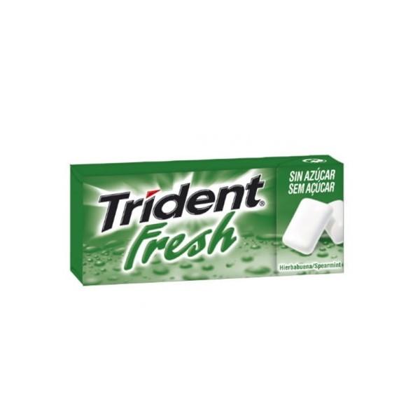 Trident Fresh Drageias Spearmint 14.5Gr
