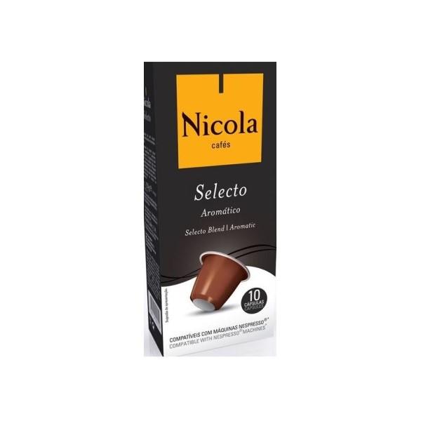 Cápsulas de café Selecto Nicola 50Gr