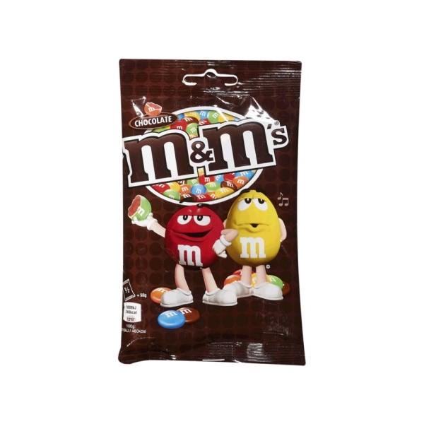 Drageias Chocolate Leite M&M 100Gr