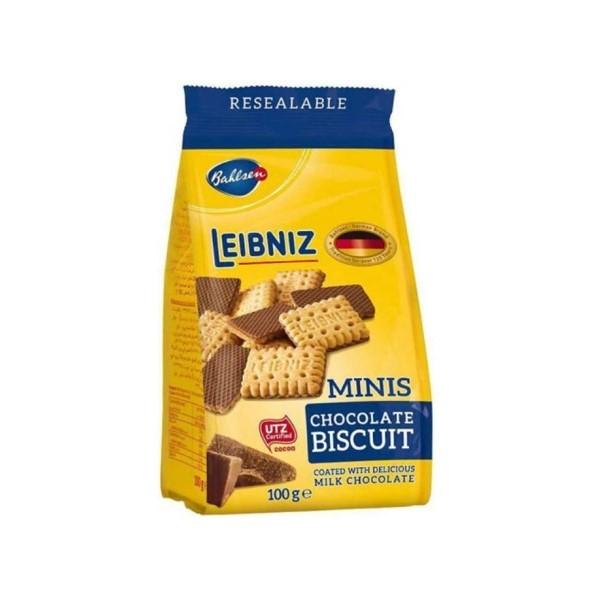 Bolacha Mini Chocolate Leibniz Bahlsen 100Gr