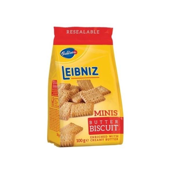 Bolacha Mini Manteiga Leibniz Bahlsen 100Gr