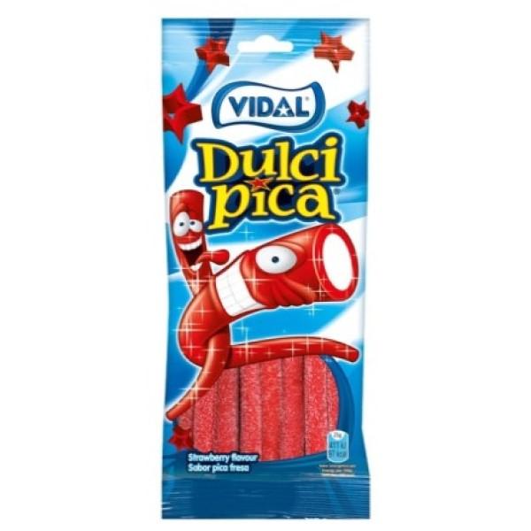 Gomas Dulcipica Fresa Vidal 100Gr