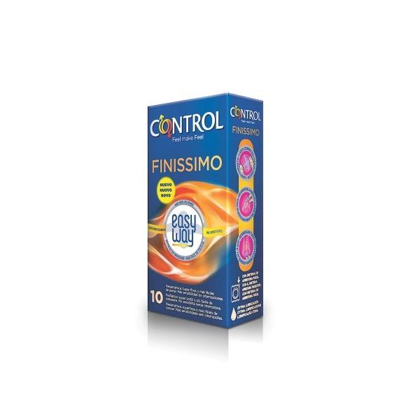 Preservativos Control Finissimo Easyw 10Un