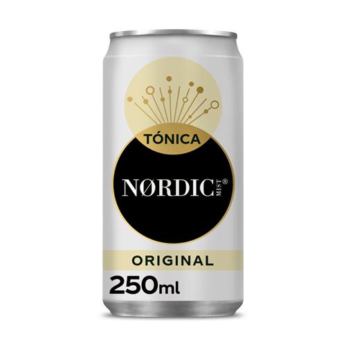 Água Tónica Nordic Lata 250ML