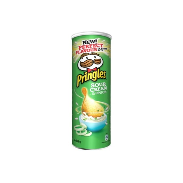 Pringles Natas & Cebola 165Gr