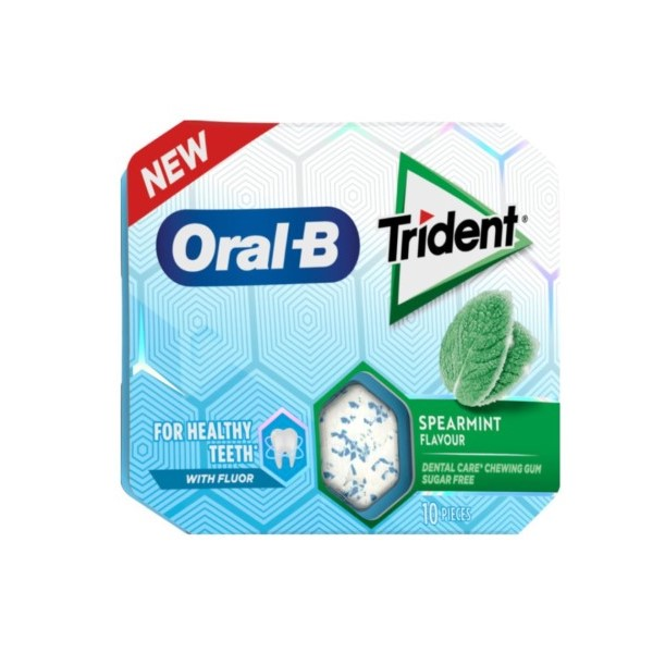 Trident Oral B Drageias Spearmint 17Gr