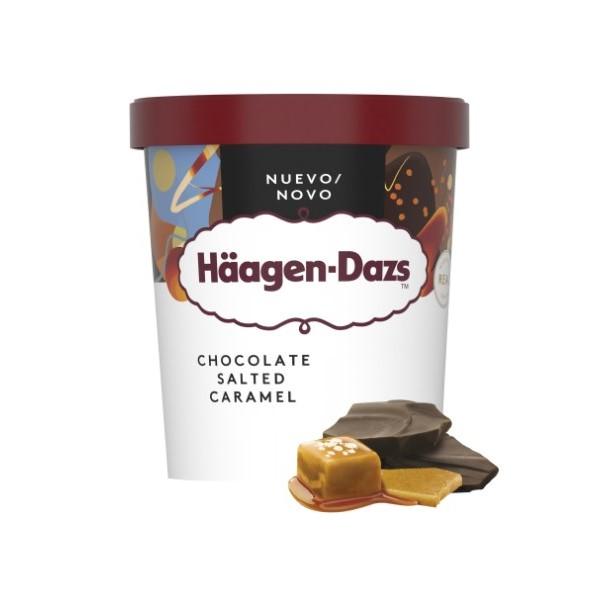 Haagen Dazs Chocolate Salted Caramel 460ml