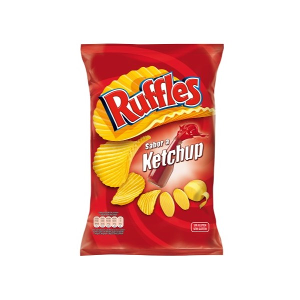 Ruffles Ketchup 122Gr