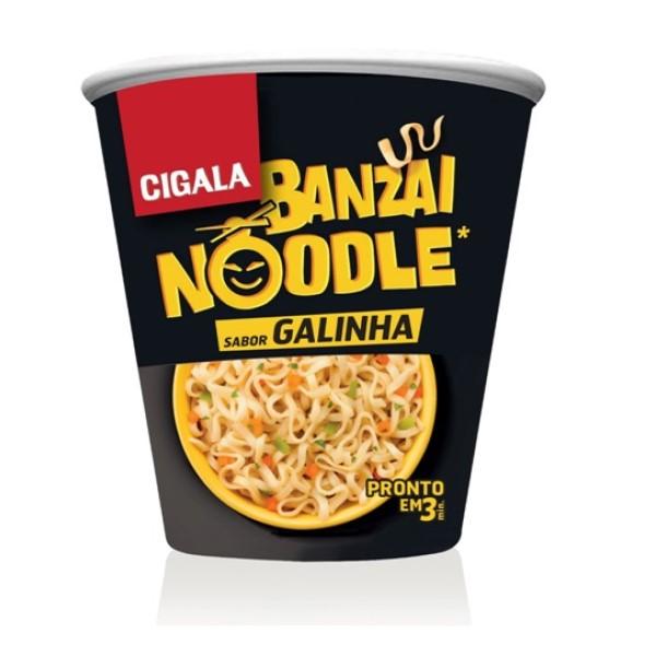 Banzai Noodle Galinha Cigala 67GR