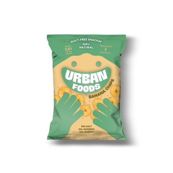 Banana Chips Urban Foods 35gr