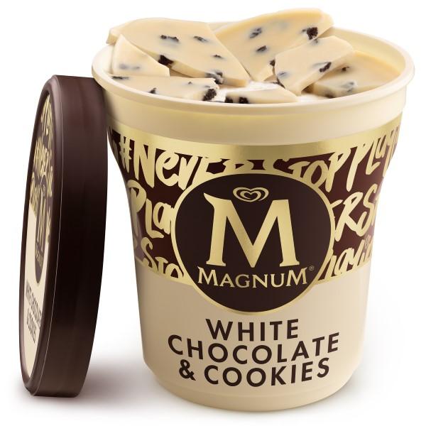 Magnum White Chocolate & Cookies Copo 440ml