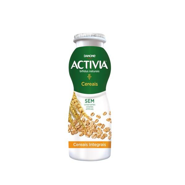 Iogurte Líquido Bifidus Probióticos Cereais Activia 155GR