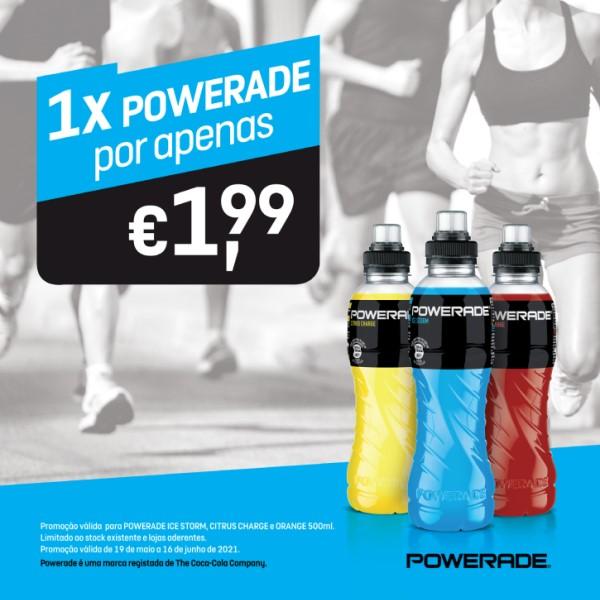 1 Powerade por 1,99€